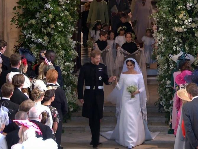 Ona kaže da je Megan iskopirala njenu venčanicu: Sličnost između haljina je zaista OGROMNA