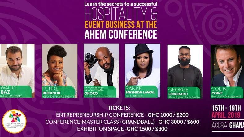 The African Hospitality & Event Management Conference 2019; A one on one with the industry experts