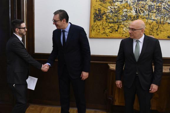 Vladan Vukosavljević i predsednik Srbije Aleksandar Vučić