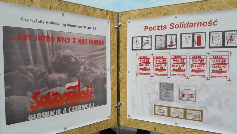 Wystawa stanęła przed Centrum Kultury w Lublinie
