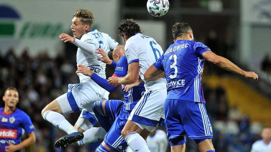 Po pięciu kolejkach piłkarze Piasta zajmują ostatnie miejsce w tabeli.