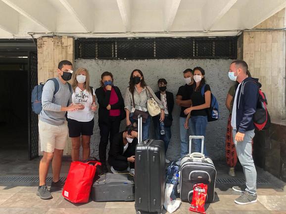 Putnici iz grada Meksiko zarobljeni u Parizu
