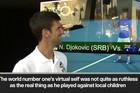 """NOVAK ĐOKOVIĆ UPOZNAO NOVAKA ĐOKOVIĆA U MELBURNU Evo kako se najbolji teniser sveta snašao kada je ugledao """"SEBE"""" /VIDEO/"""