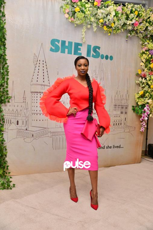 Bolanle Olukanni in her usual flawless self at 'She Is'movie premiere [PULSE]
