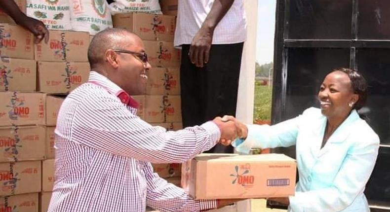 No! Rachael Ruto did not donate Omo to Turkana hunger victims DP's spokesman explains