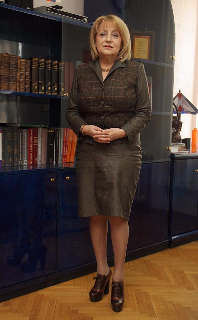 Slavica Đukić Dejanović i njene cipele