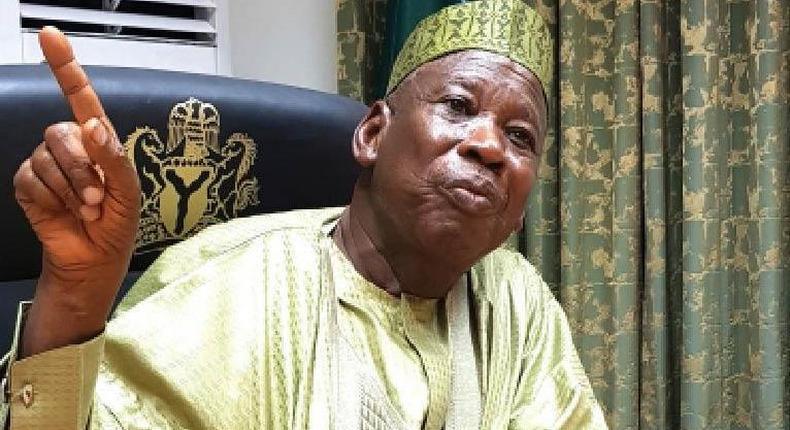 Governor Abdullahi Ganduje of Kano State. [Daily Trust]