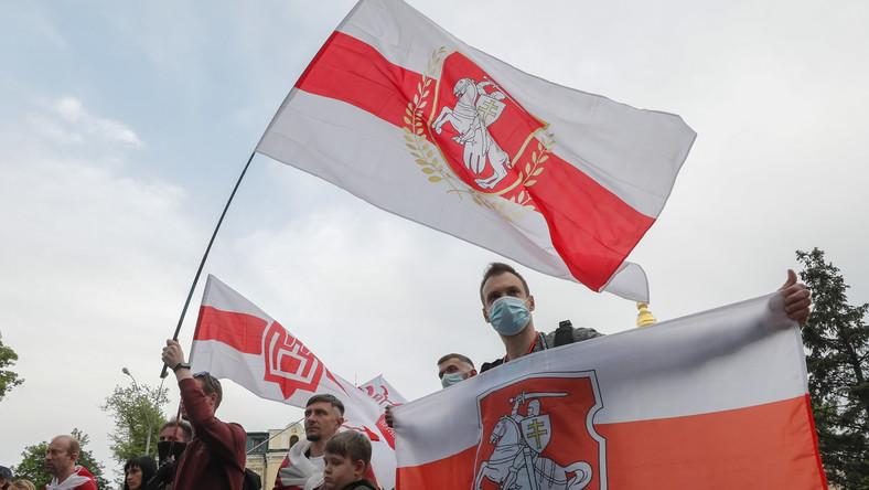 Protesty Białorusinów po zatrzymaniu opozycjonisty