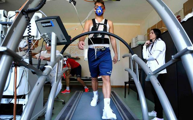 Filip Stojković na lekarskim pregledima