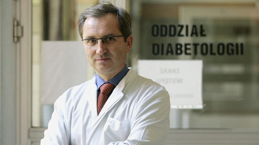 Profesor Krzysztof Strojek
