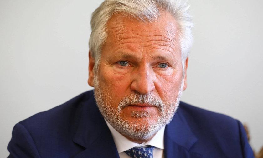 Aleksander Kwaśniewski.
