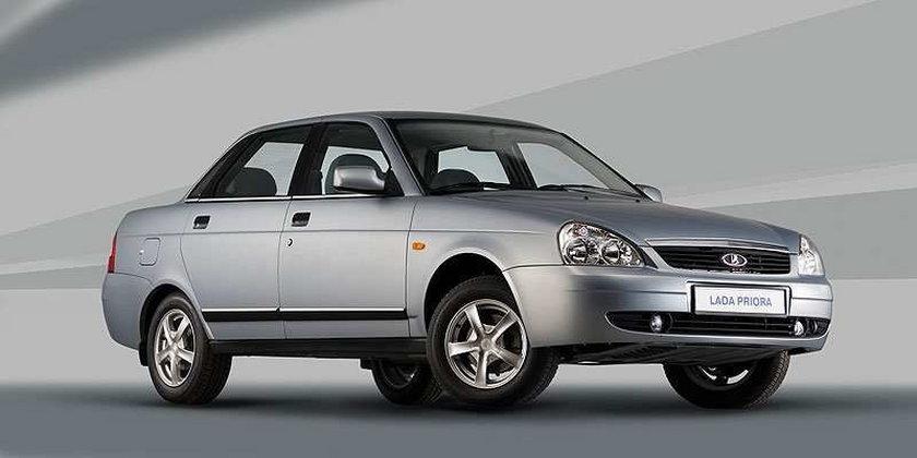 Z fabryki zginęło 7400 samochodów marki Łada