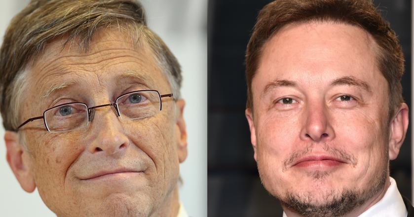 Bill Gates i Elon Musk starają się planować każdy moment swojego dnia