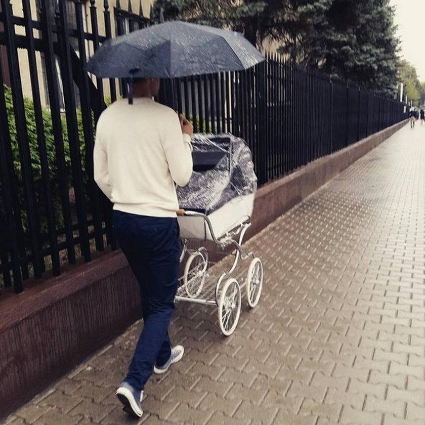 Bohater afery madryckiej ma bajecznie drogi wózek