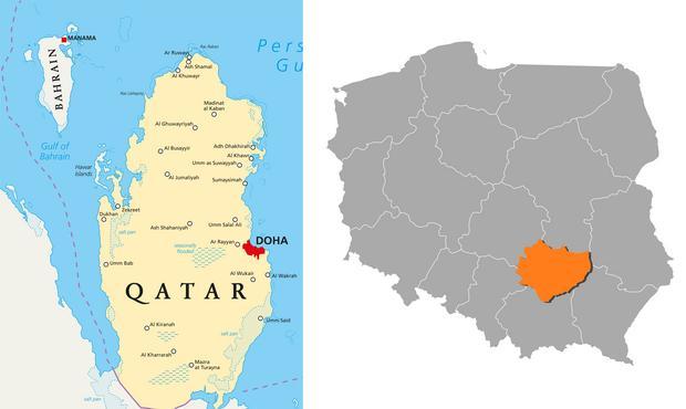 Katar vs. województwo świętokrzyskie
