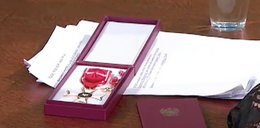 Oddał order od prezydenta Kaczyńskiego