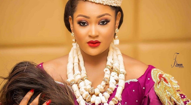 Actress Uche Elendu's shop vandalised and looted by hoodlums