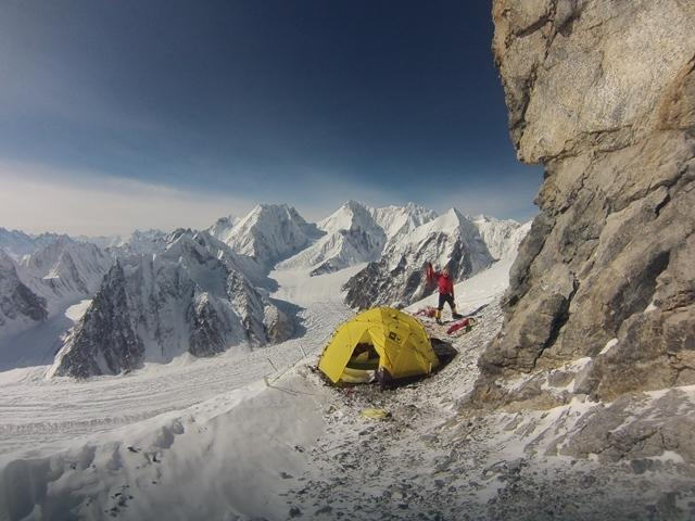 Broad Peak - wyprawa PZA 2013 - obóz II