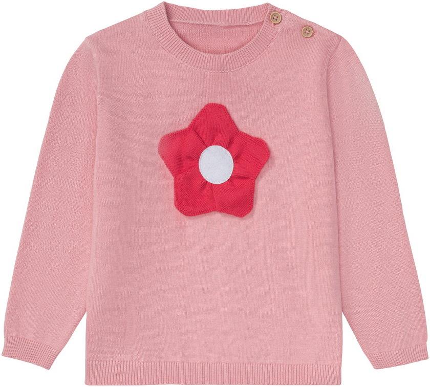 Lupilu, sweter dziewczęcy zbawełny, rozm. 86-116