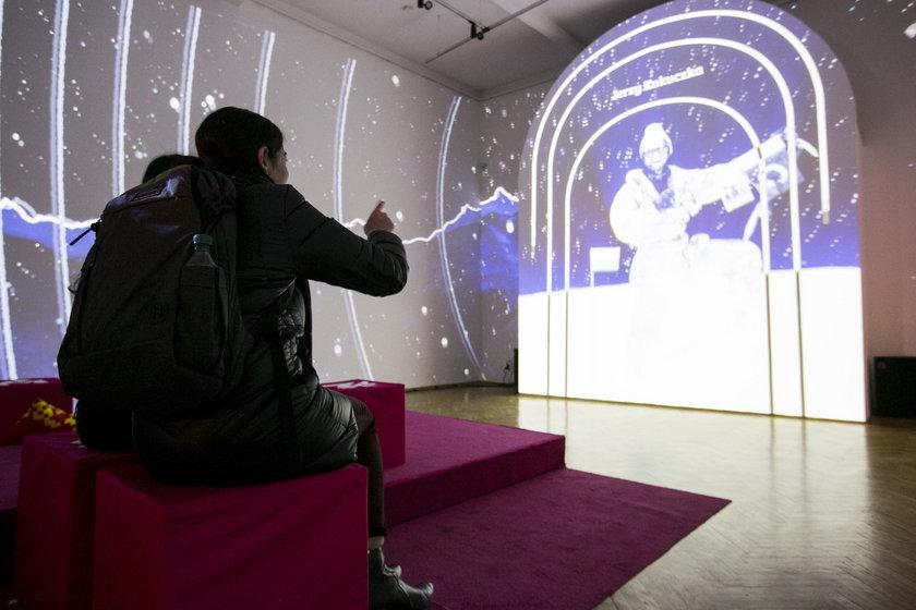 Mapping można oglądać w dawnym budynku Muzeum Śląskiego