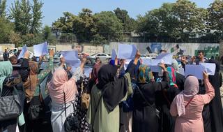 Afganistan: W Kabulu kobiety demonstrowały w obronie swoich praw