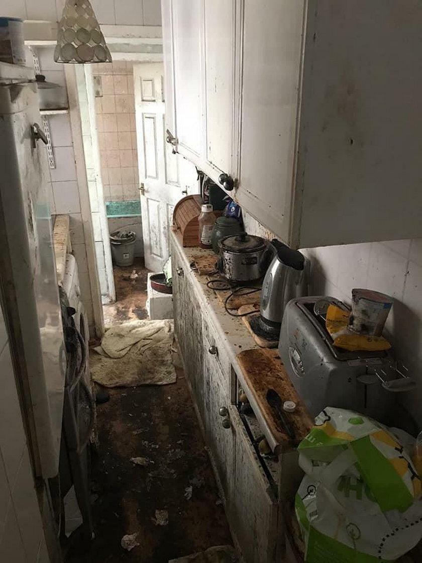 Mieszkanie, jak z horroru. Po 50 godzinach pracy trudno rozpoznać to miejsce
