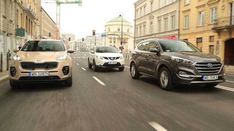 Kia Sportage kontra Nissan Qashqai i Hyundai Tucson - czyli, starcie bestsellerów