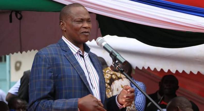 The late Kabuchai MP James Mukwe Lusweti