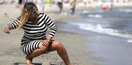 Odchudzona Szostak na plaży. Dużo zdjęć!
