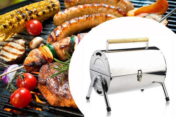 Inox roštilj