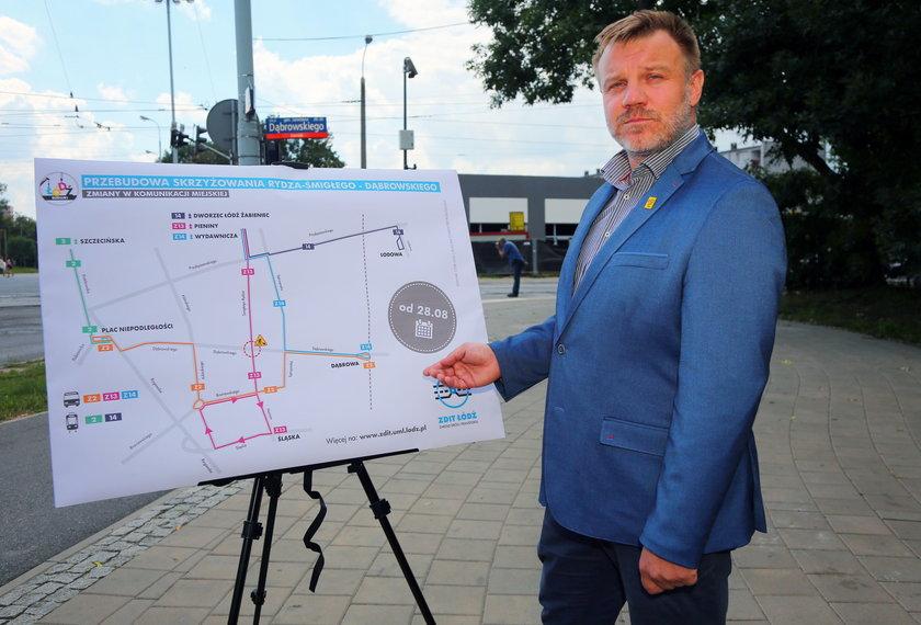 Grzegorz Misiorny dyrektor Zarządu Dróg i Transportu ZDiT w Łodzi