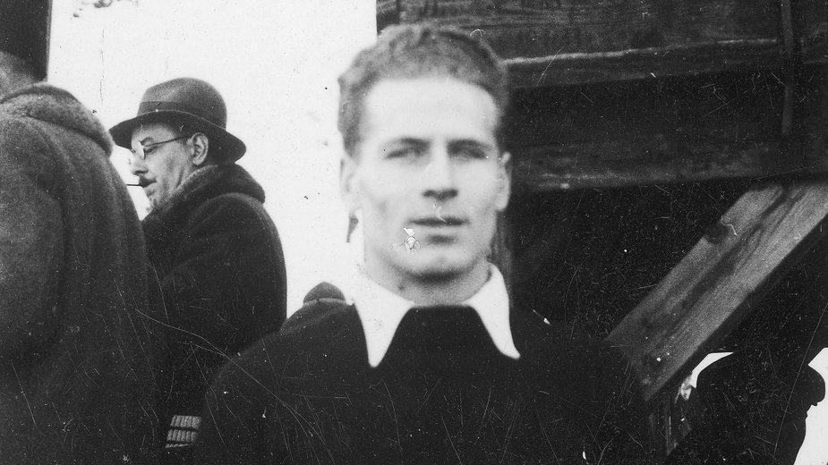 Stanisław Marusarz na MŚ w Lahti w 1938 r.