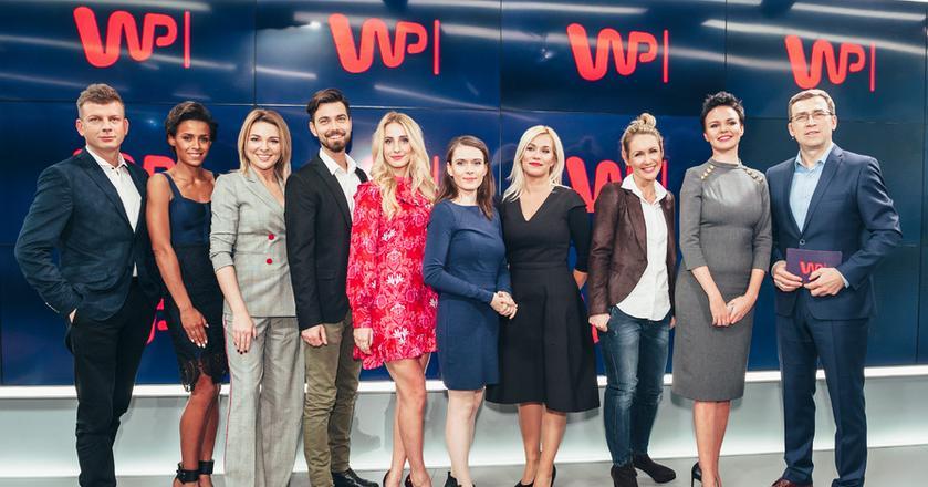 Z tym zespołem prowadzących w listopadzie ub.r. startowała telewizja WP. Większość dziennikarzy już nie pracuje w tej stacji