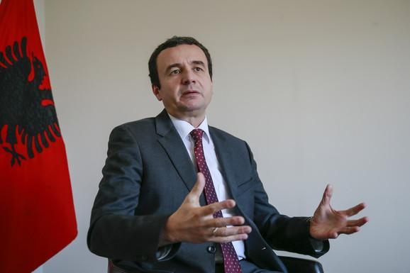 Aljbin Kurti traži da se Srpska lista proglasi za terorističku organizaciju.