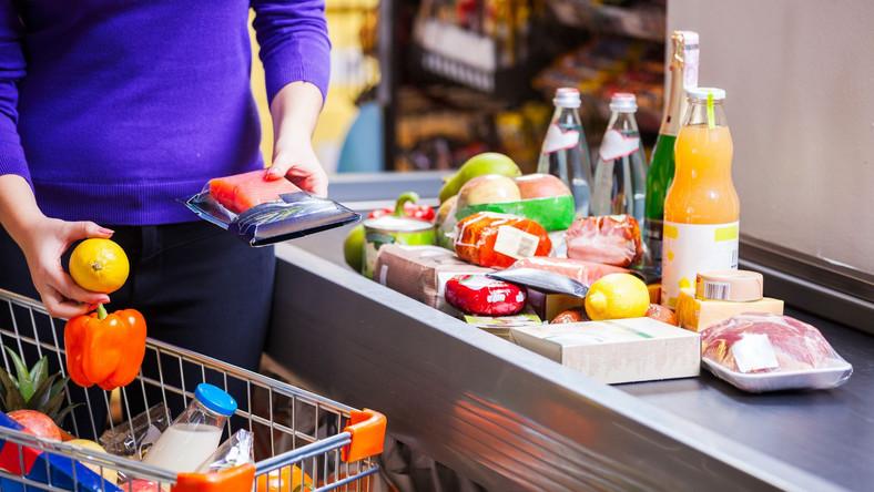 Zakupy w superrmarkecie