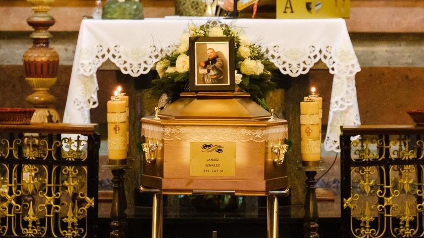 Pogrzeb tragicznie zmarłego Janusza Szmalca odbył się w sobotę w Jastrzębiu