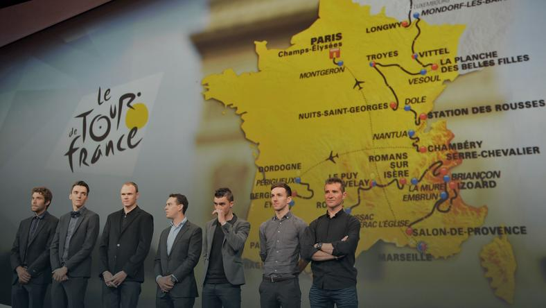 Chris Froome i prezentacja trasy Tour de France 2017