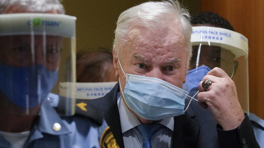 Były dowódca wojskowy Serbów bośniackich Ratko Mladić