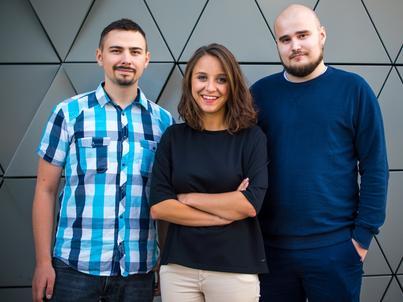 Twórcy startupu Ada/Fot. Filip Kamyczek