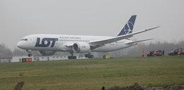 Piorun uderzył w polski samolot!