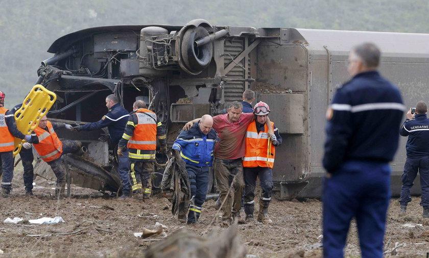 Wypadek TGV koło Strasburga. Nie żyje 5 osób