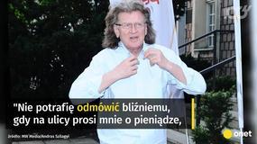 """Ostatni wywiad Zbigniewa Wodeckiego. """"Nie potrafię odmówić bliźniemu"""""""