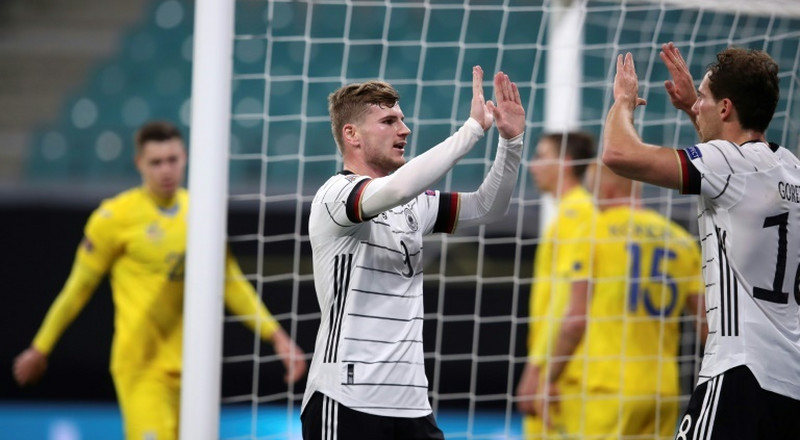 Werner fires Germany top of Nations League group