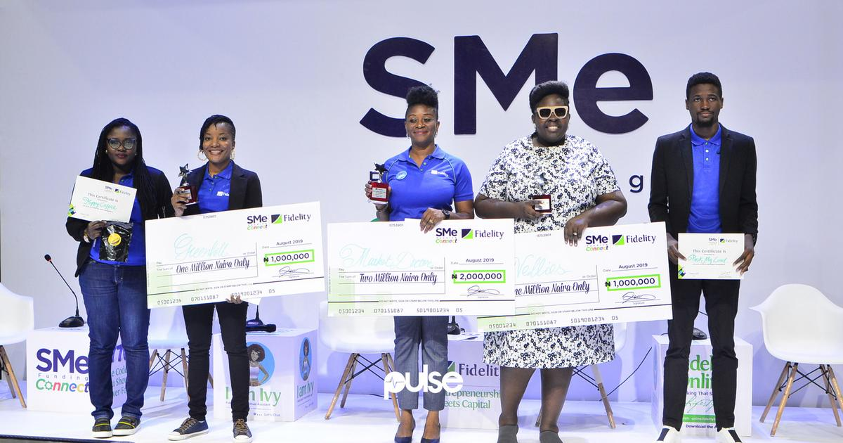 Nigeria's Fidelity Bank awards N6.4 million to 12 SMEs, launches new growth-focused products - Pulse Nigeria