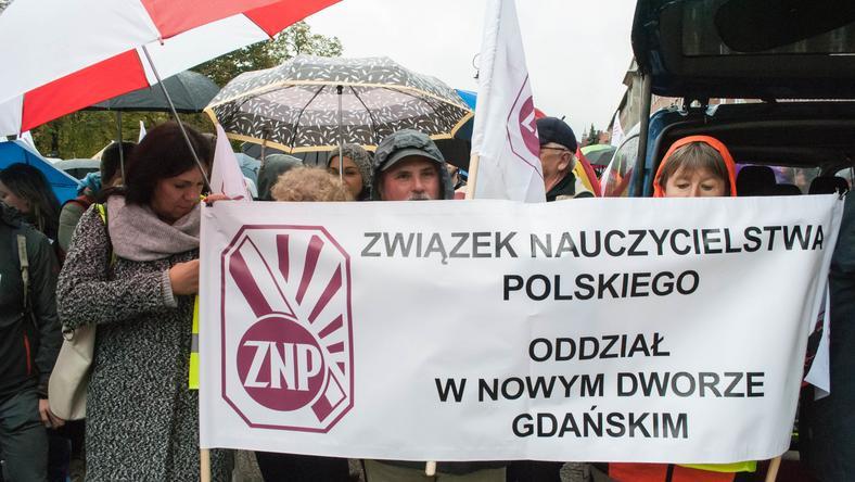protestznp.Piotr Olejarczyk