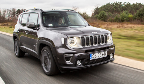 "Jeep Renegade 1.3 GSE T4 Turbo Limited – Jeep, ale ""ośka"" 