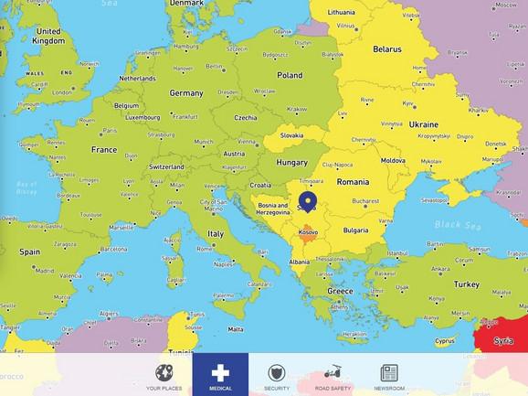 Srbija je po faktoru zdravstvene brige u kategoriji srednjeg rizika