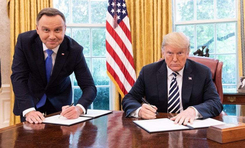 Minister Jacek Czaputowicz o wizycie Andrzeja Dudy u Donalda Trumpa