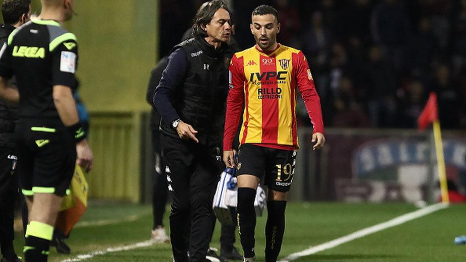 Trener Filippo Inzaghi i Roberto Insigne to dwa istotne ogniwa w Benevento