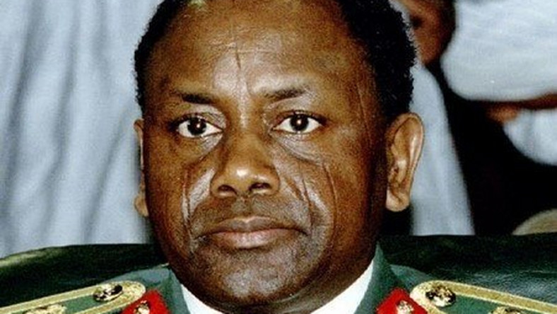 Late Nigerian military leader General Sani Abacha is shown in this September 1993 file photo.